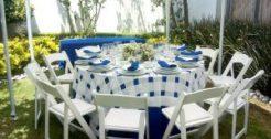 Renta de Mobiliario, Blancos Y Enseres Para Banquetes